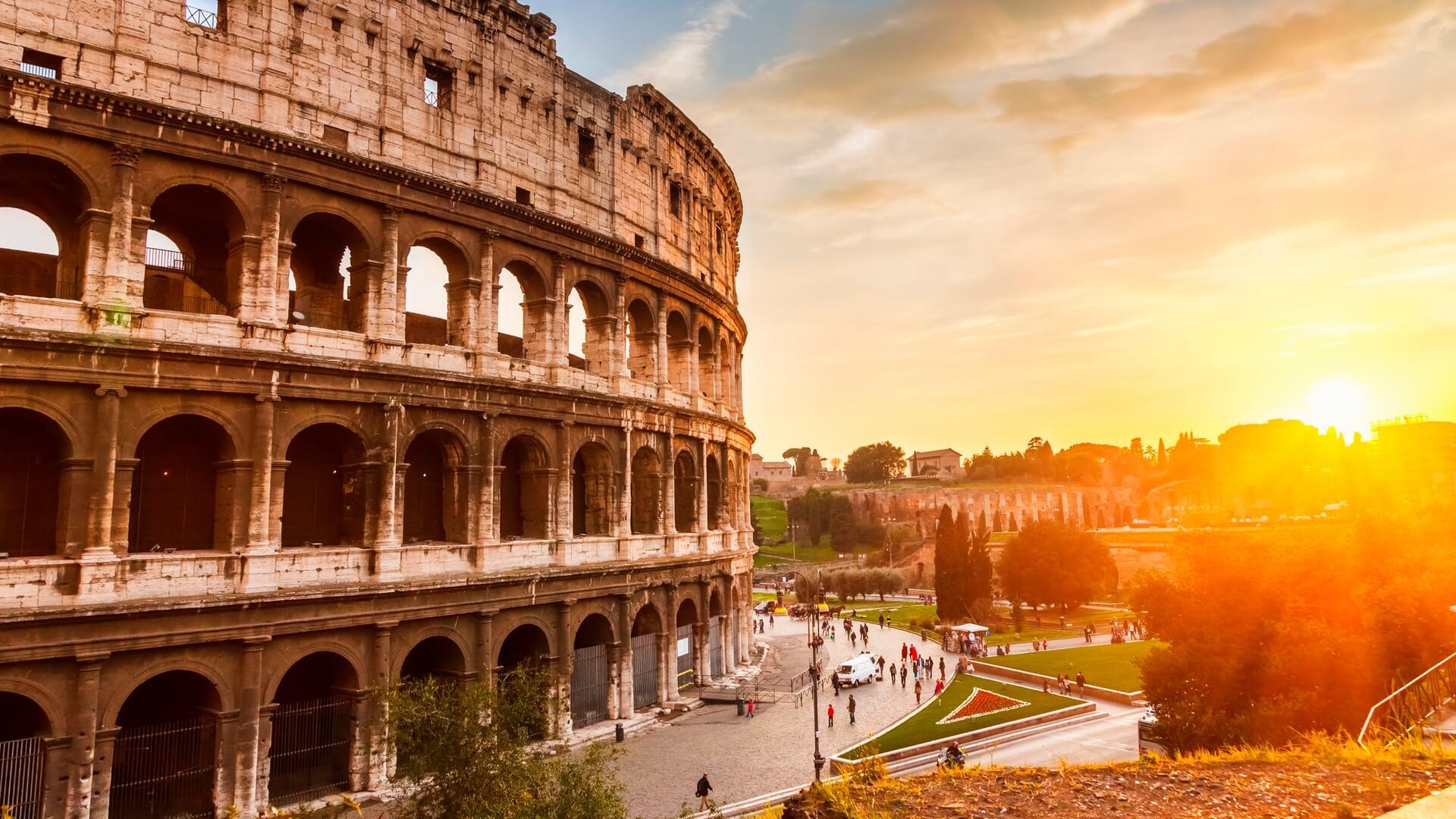 Коллизей в Риме, Италия